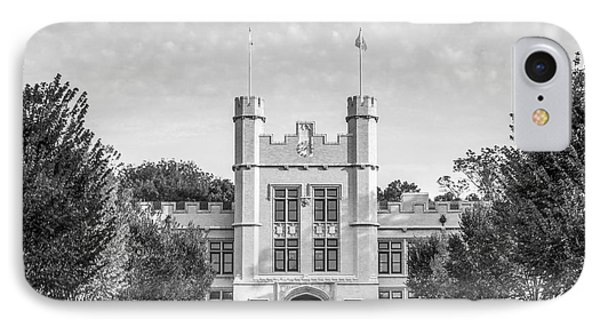 College Of Wooster Kauke Hall Phone Case by University Icons