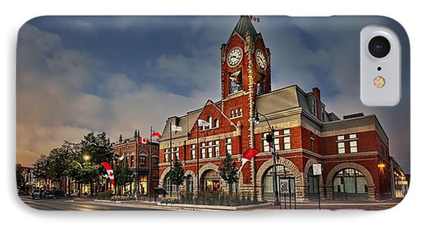 Collingwood Townhall IPhone Case by Jeff S PhotoArt
