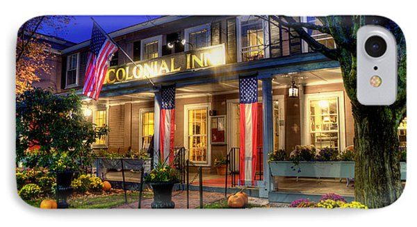 Colonial Inn Concord Ma -historic Sites IPhone Case by Joann Vitali