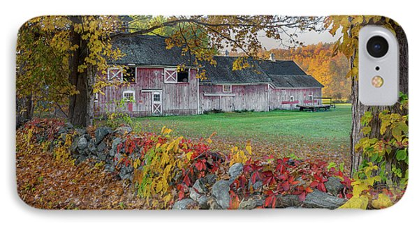 Color Of New England IPhone Case by Bill Wakeley