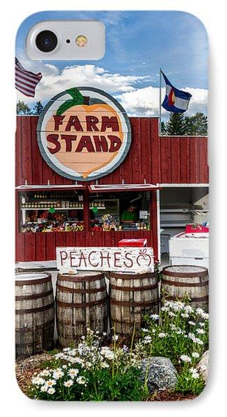 Colorado Farm Stand IPhone Case by Mountain Dreams