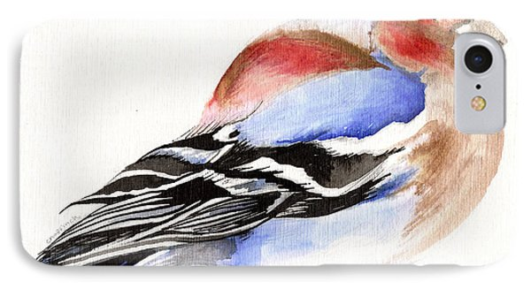 Colorful Chaffinch IPhone 7 Case by Nancy Moniz