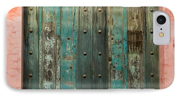 Colorful Doors Antigua Guatemala Phone Case by Douglas Barnett
