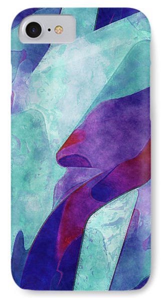 Colorful Form IPhone Case by Jack Zulli