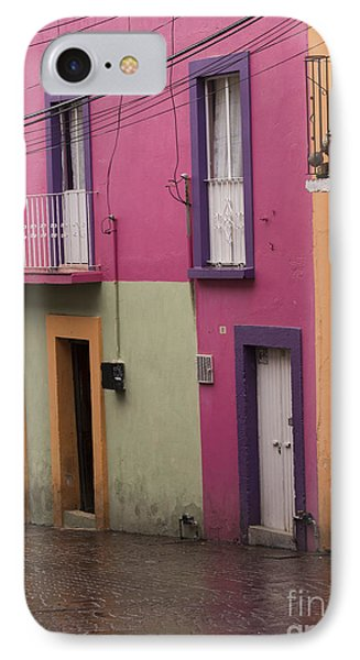 Colorful Mexican Homes IPhone Case by Juli Scalzi