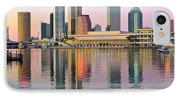 Colorful Tampa Bay IPhone Case by Frozen in Time Fine Art Photography