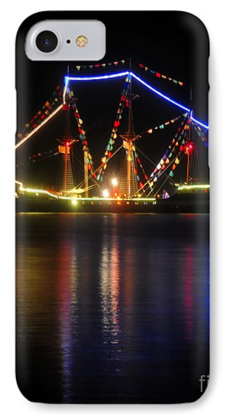 Colors Of Gasparilla IPhone Case by David Lee Thompson