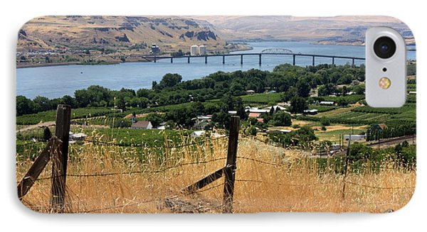 Columbia River - Biggs And Maryhill State Park Phone Case by Carol Groenen