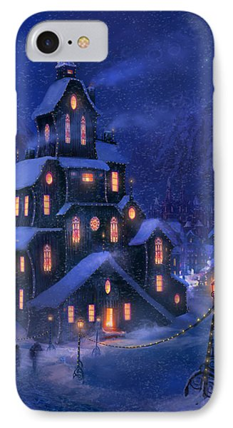 Coming Home IPhone Case by Philip Straub