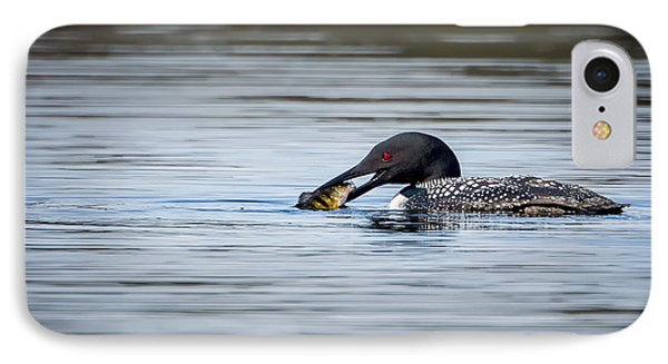 Common Loon IPhone 7 Case by Bill Wakeley