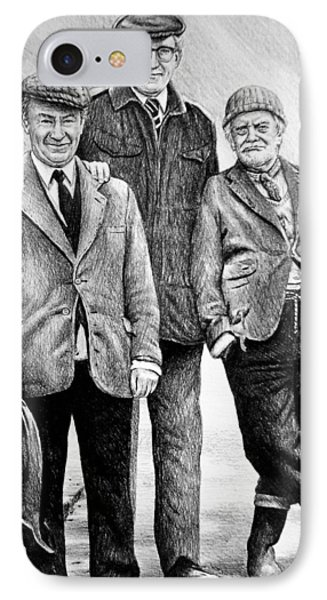 Compo Clegg And Foggy 2 IPhone Case by Andrew Read