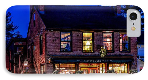 Concord Market And Cafe IPhone Case by Larry Richardson
