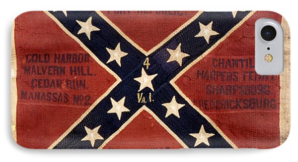 Confederate Flag, 1863 IPhone Case by Granger