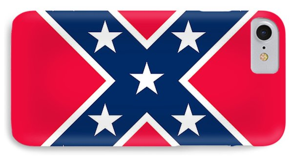 Confederate Flag IPhone Case by American School
