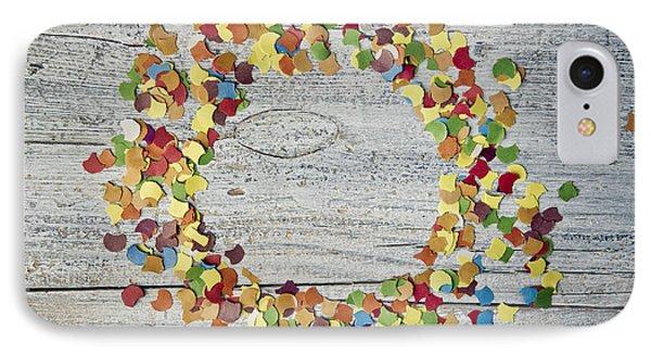 Confetti Circle IPhone Case by Nailia Schwarz