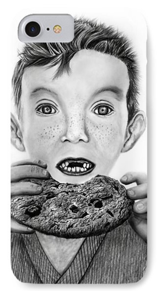 Cookie Surprise  IPhone Case by Peter Piatt