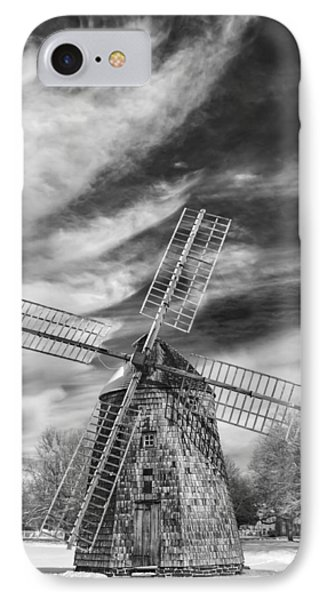 Corwith Windmill Long Island Ny II IPhone Case by Susan Candelario