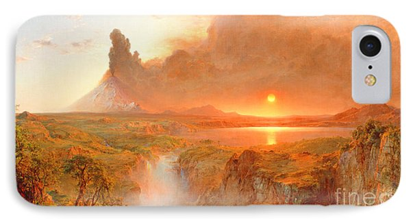 Cotopaxi Phone Case by Frederic Edwin Church