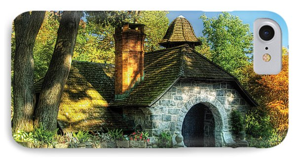 Cottage - The Little Cottage Phone Case by Mike Savad
