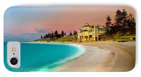 Cottesloe Beach Sunset IPhone Case by Az Jackson
