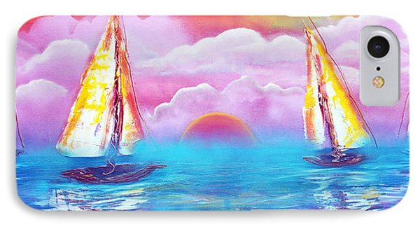 Cotton Candy Cove IPhone Case by Laura Barbosa