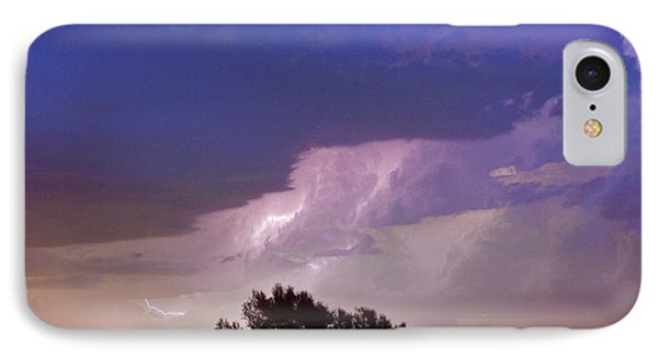 County Line Northern Colorado Lightning Storm Phone Case by James BO  Insogna