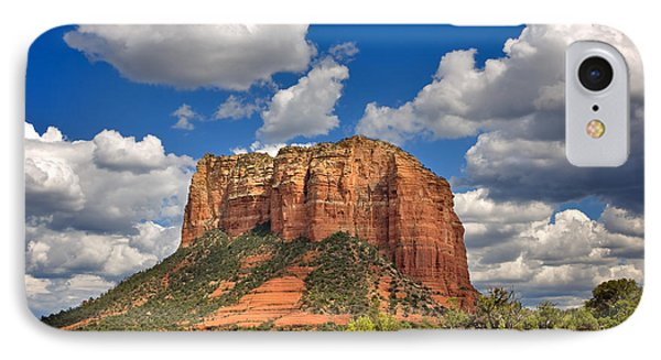 Courthouse Butte IPhone Case by Louise Heusinkveld