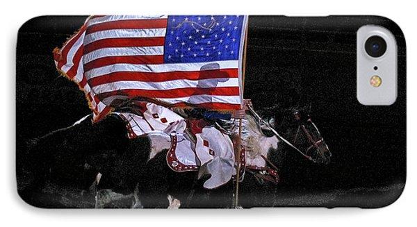 Cowboy Patriots IPhone Case by Ron White