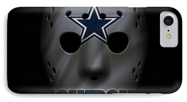 Cowboys War Mask 2 IPhone 7 Case by Joe Hamilton