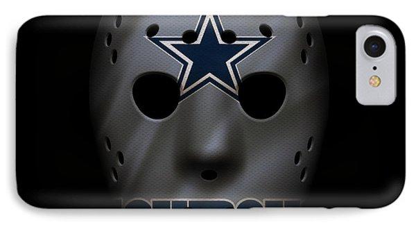 Cowboys War Mask 2 IPhone Case by Joe Hamilton