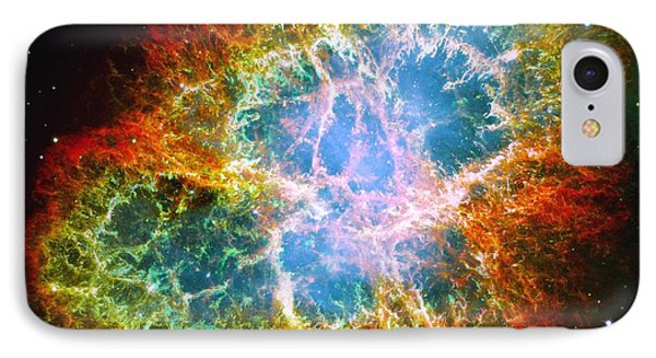 Crab Nebula IPhone Case by Don Hammond