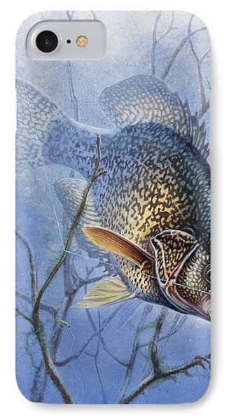 Crappie Cover Tangle IPhone Case by JQ Licensing