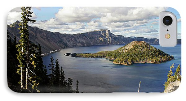 Crater Lake - Intense Blue Waters And Spectacular Views IPhone 7 Case by Christine Till