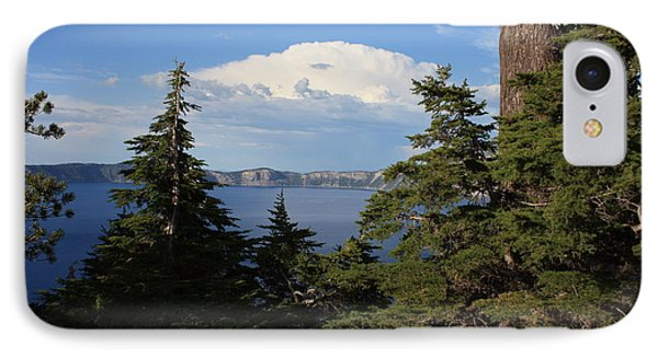 Crater Lake 8 Phone Case by Carol Groenen