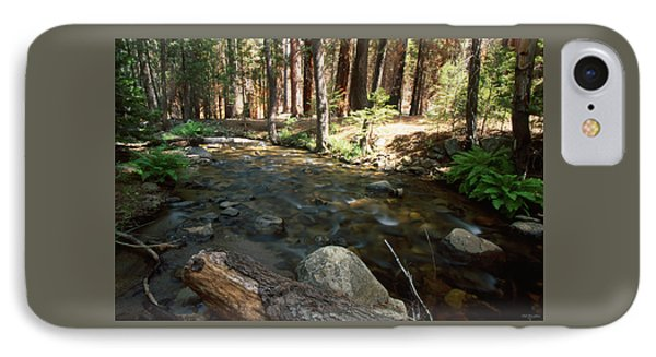 Creek Crossing IPhone Case by Soli Deo Gloria Wilderness And Wildlife Photography