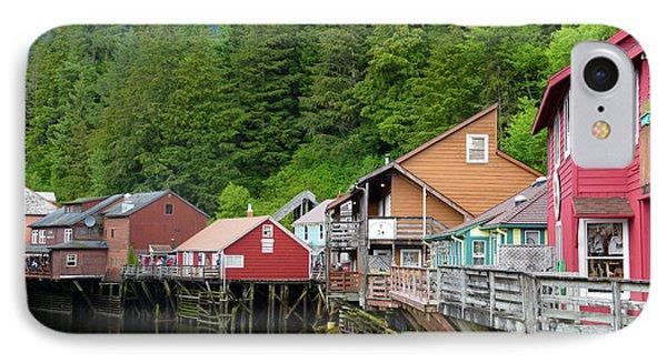 Creek Street Ketchikan Alaska IPhone Case by Barbara Snyder