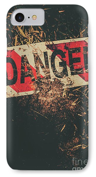 Crime Scene Danger Tape IPhone Case by Jorgo Photography - Wall Art Gallery