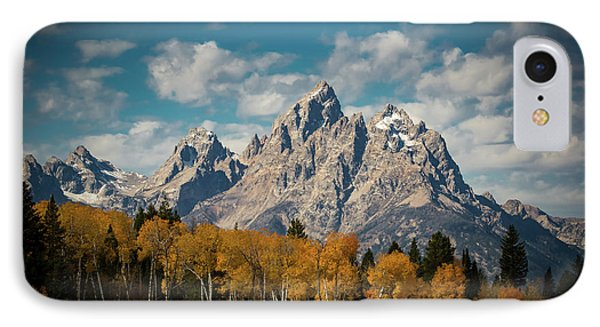 Crown For Tetons IPhone Case by Edgars Erglis