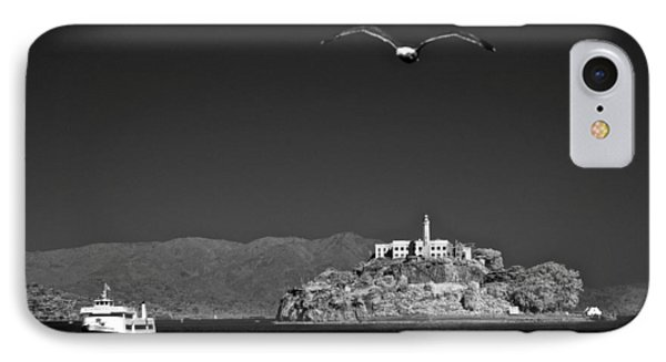 Cruising To Alcatraz IPhone Case by James Walsh
