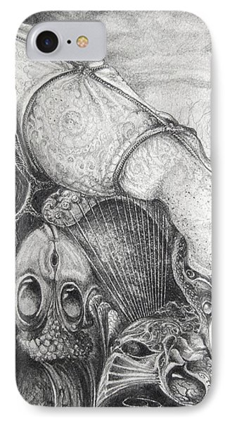 Ctulhu Seedpods Phone Case by Otto Rapp