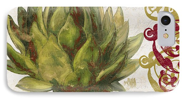 Cucina Italiana Artichoke IPhone Case by Mindy Sommers