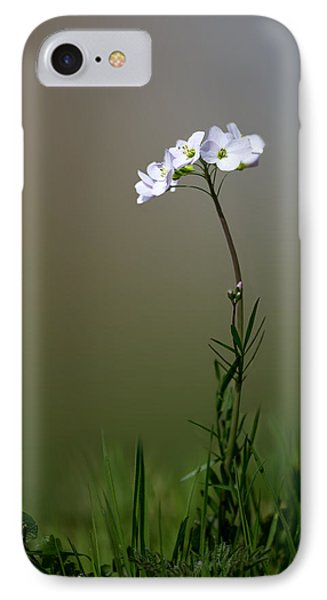 Cuckoo Flower IPhone Case by Ian Hufton