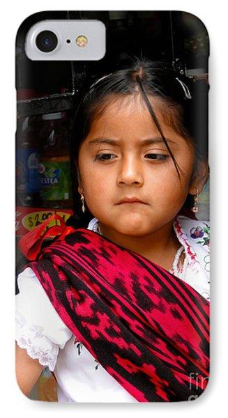 Cuenca Kids 622 IPhone Case by Al Bourassa