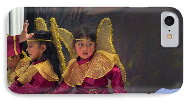 Cuenca Kids 645 IPhone Case by Al Bourassa