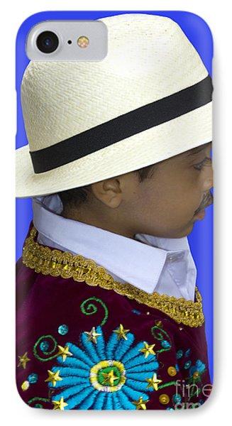 Cuenca Kids 736 IPhone Case by Al Bourassa
