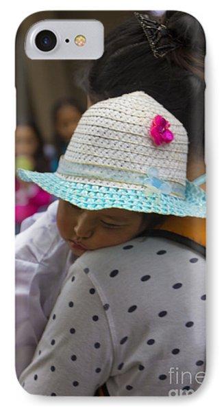 Cuenca Kids 737 IPhone Case by Al Bourassa