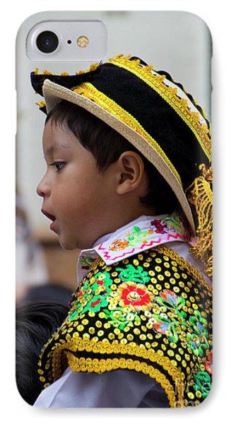 Cuenca Kids 757 IPhone Case by Al Bourassa