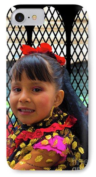 Cuenca Kids 783 IPhone Case by Al Bourassa