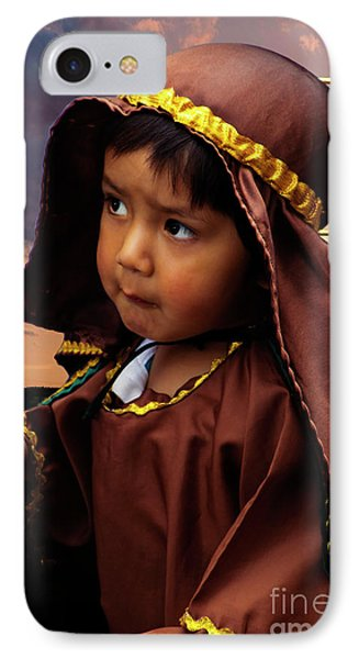 Cuenca Kids 820 IPhone Case by Al Bourassa