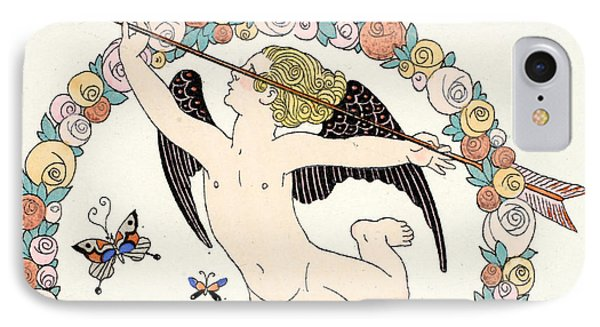 Cupid IPhone Case by Georges Barbier